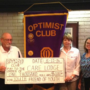 Care Lodge Donation