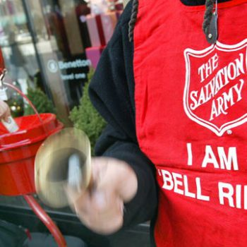 DTOC Members Ring Bells For Salvation Army – 2014