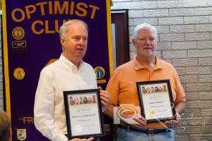 LtoR: Life Members Mark Scarborough & Butch Wright