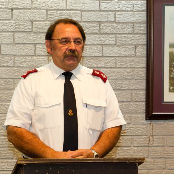 Major Glenn L. Riggs, Salvation Army