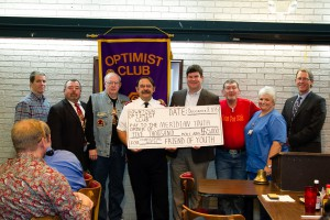 2016 DTOC President Daniel Stewart Presents Donations To Local Organizations
