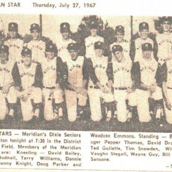 Dixie Seniors Allstars 1967