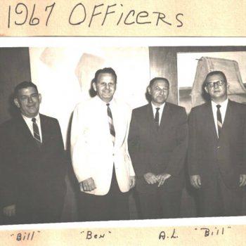 Optimist Officers 1967