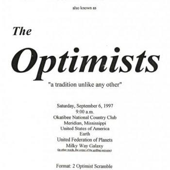 The Optimists Golf Tournament