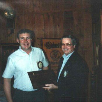Tommy Duncan Gets Award 1995